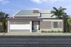 Custo de obra por m2. Confira o custo para construir. Planta de casa térrea com piscina
