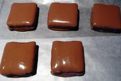 Easy HOME MADE Butterfingers RECIPE Easy...(only 2 ingreds.)--Triscuits, Peanut Butter & Chocolate wafers
