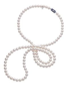 Mikimoto 120th Anniversary Akoya cultured pearl necklace