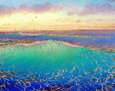 sunset wave - Loren D. Adams