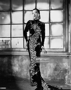 Anna May Wong (née Wong Liu Tsong), Limehouse Blues, 1934 Anna May, Old Hollywood Actresses, Chinese American, Gone Girl, Musa, Vintage Glamour, Classic Hollywood, Hollywood Fashion, Vintage Hollywood