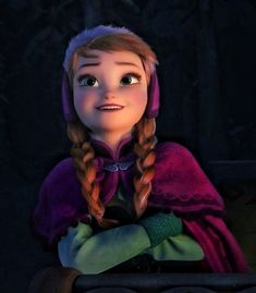 Anna Frozen, Elsa, Disney Princess, Dreamworks, Disney Characters, Hair Styles, Beauty, Hair Plait Styles, Ana Frozen