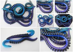 octopus tentacle jewelry