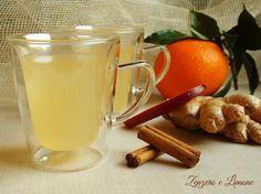 La tisana zenzero, cannella e frutta è una coccola rilassante e benefica. Ideale nel caso di raffreddore e mal di gola e perfetta per aiutare la digestione.