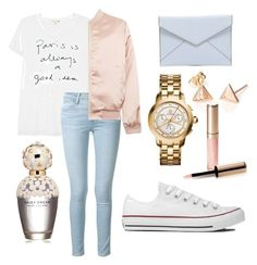 """""""Untitled #27"""" by embozant on Polyvore featuring Sundry, Frame Denim, Cameo Rose, Tory Burch, Converse, Rebecca Minkoff, Marc Jacobs and By Terry"""