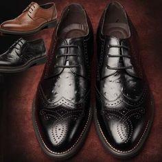 Encontrar Más Oxfords Información acerca de Los hombres de cuero genuino zapatos de vestir , zapatos negros marrones oxford para los hombres , los hombres de cuero zapatos oxford 2014, alta calidad cordón del zapato, China zapatos con cordones de arranque Proveedores, barato genuino zapatos de Love Nature store en Aliexpress.com