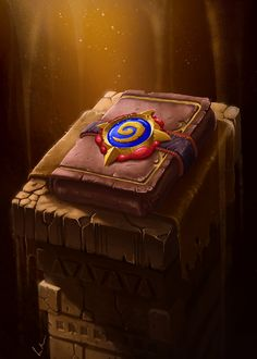 Hearthstone Pack, Federico Meloni on ArtStation at https://www.artstation.com/artwork/Lkw9K