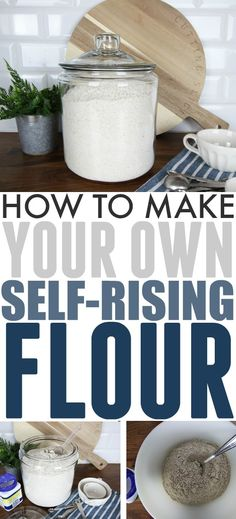 How to Make Your Own Self-Rising Flour   The Creek Line House