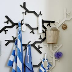Tree Hooked Coat Rack - Coat Racks and Hangers - Accessories