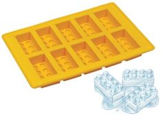Lego Shaped Ice Cube Tray (Lego Ice Sculptures)