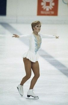 Rosalynn Sumners, Silver Medalist, Sarajevo, 1984.
