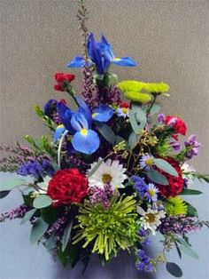 Spring Flower Baskets | Spring Flower Baskets