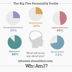I've just created my 'Who Am I?' #personality profile via @VisualDNA. Check it out https://whoami.visualdna.com/?c=us#feedback/d9cfc1ea-b5e4-4925-9e21-040f94d0de46 or create one for yourself https://whoami.visualdna.com/