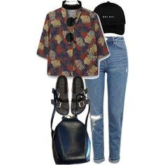 A fashion look from August 2016 featuring MANGO tops, Topshop jeans and Isabel Marant sandals. Browse and shop related looks. Grunge Outfits, Style Outfits, Hip Hop Outfits, Grunge Fashion, Look Fashion, 90s Fashion, Korean Fashion, Cool Outfits, Summer Outfits