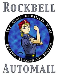 Fullmetal Alchemist Brotherhood Automail   fullmetal alchemist # fma # winry # winry rockbell