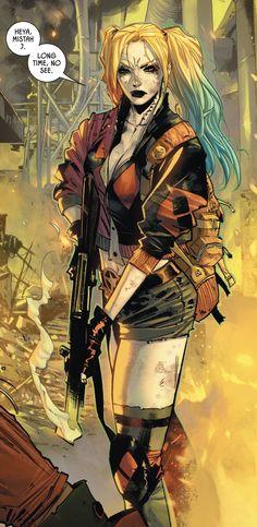 Comic Book Characters, Comic Books Art, Comic Art, Arte Dc Comics, Batman Comics, Harley Quinn Cosplay, Joker And Harley Quinn, Harley Quinn Drawing, Character Art