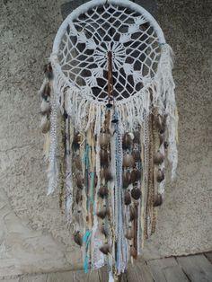 Large Handmade Dreamcatcher Boho Hippie Tribal Western Decor Wall Hanging tmyers #Handmade #NativeAmerican
