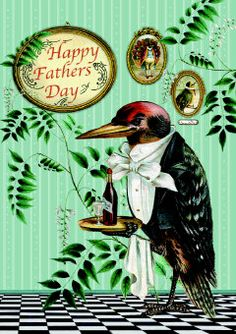 Roger la Borde | Father's Day Greeting Card by Barbara Behr