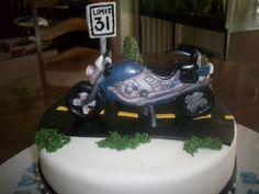 motercycle cake