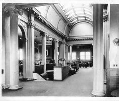 Springfield, IL. Old Lincoln Library. Courtesy of Springfield Rewind and Sangamon Valley Archives.