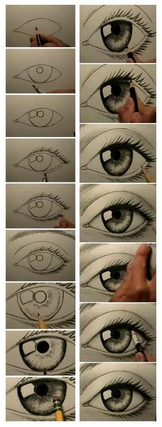 How to Draw an Eye.... looks way to easy but it probably isnt