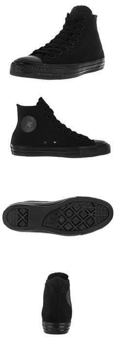 f9c43c2aae63 Converse Unisex Chuck Taylor All Star Pro Hi Black Black Skate Shoe 10.5  Men US   12.5 Women US