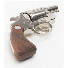 "Colt Detective Special DA revolver, .38 Special cal., 2"" barrel, nickel finish, Loading that magazine is a pain! Get your Magazine speedloader today! http://www.amazon.com/shops/raeind"