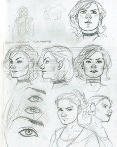Black Canary and Zatanna: Bloodspell sketch by Joe Quinones *