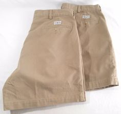 POLO RALPH LAUREN Shorts Mens Size 36 Chino Pleated Front Andrew Cotton Lot of 2 #PoloRalphLauren #Khakis #Chinos #shorts