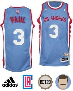 Men s Chris Paul  3 Blue Hardwood Classics Jersey Michael Jordan Shoes 99a9c907bf4