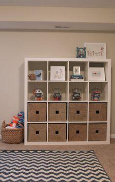 nice toy storage via 6th Street Design School