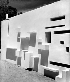 poetryconcrete:  Pabellón de Pontevedra en la Feria del Campo, Alejandro de la Sota, 1956, in Madrid, Spain.