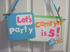 The Fresh Beat Band Birthday Party Door Sign by PutYourHeartInIt, $10.00