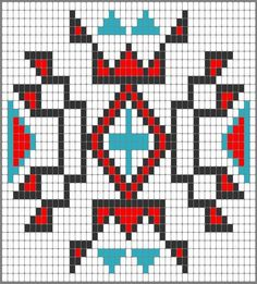 grandmother spider more loom pattern grandmothers spiders mochila . Brick Stitch Patterns, Bead Loom Patterns, Beading Patterns, Native Beadwork, Native American Beadwork, Mochila Crochet, Native American Patterns, Tapestry Crochet Patterns, Tapestry Bag