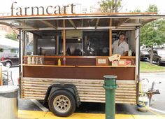 JOEFF DAVIS - STREET SMARTS: Farm Cart, the trailer owned by Athens' Farm 255, was one of the vendors that took part in a street food fair at the Sweet Auburn Curb Market last month.