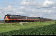 RailPictures.Net Photo: SLRG 515 Iowa Pacific Holdings EMD E8(A) at Janesville, Wisconsin by Will Pagel