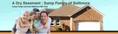 """Specializing in Sump Pumps/Battery Backup Sump Pumps Baltimore and Home Ventilation Systems  Servicing Baltimore Metro & Central Maryland Sump Pumps."""