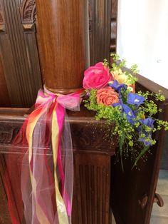 Bloemtoef in de kerk