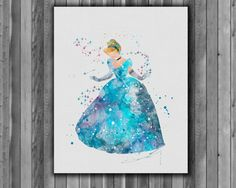 Hey, I found this really awesome Etsy listing at https://www.etsy.com/listing/232318063/cinderella-disney-art-print-instant