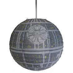 Official Merchandise Star Wars Death Star Papier Licht Schatten Lampe Schatten Neuheit Death Star Paper Light Shade