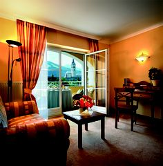 "Luxus Doppelzimmer ""Am Rosengarten"" Das Hotel, Curtains, Home Decor, Double Room, Roses Garden, Luxury, Blinds, Decoration Home, Room Decor"