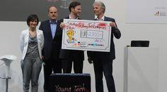 Die Gewinner des Startup Pitches @ Young Tech Enterprises der HANNOVER MESSE stehen fest