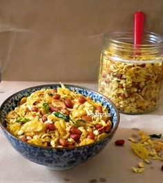Maayeka - Authentic Indian Vegetarian Recipes: How to Make Chiwda Namkeen - Diwali Special Recipe