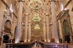 Catedral de Barbastro.   Imagen del Archivo de la comarca del Somontano. Autor Foto Salas.