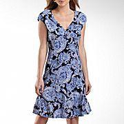 Jones Wear® Paisley Print Dress