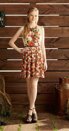 Só na Antix Store você encontra Vestido Meu Jardim com exclusividade na internet