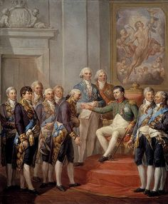 Marcello Bacciarelli Napoleon Proclaims the Constitution of the Duchy of Warsaw 1811