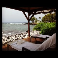 Honeymoon Spot #2...Fairmont Orchid, The Big Island, Hawaii...I cannot wait for this view for 5 days.