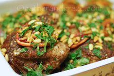 Zaatar Recipe, Yotam Ottolenghi, Balanced Meals, Roast Chicken, Blood Orange, Original Recipe, Tasty Dishes, Tray Bakes