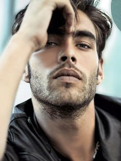 Jon Kortajarena  ............. those eyes and 5 O'clock shadow...  he is totally Christian Grey